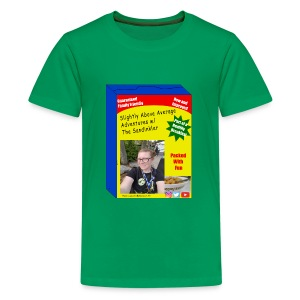 sandinkler cereal box - Kids' Premium T-Shirt
