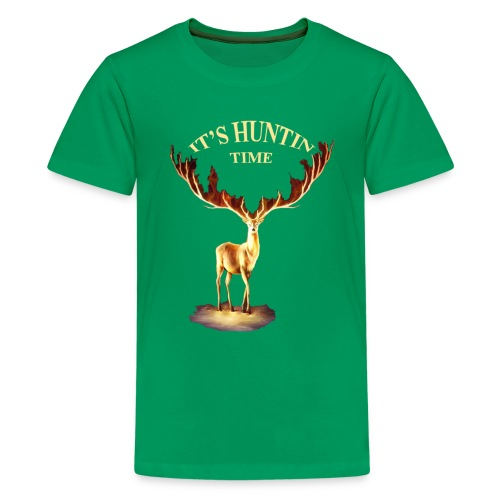 Hunting time - Kids' Premium T-Shirt