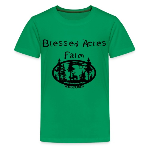 Blessed Acres Farm - Kids' Premium T-Shirt
