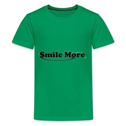 ROMAN ATWOOD SMILE MORE DESIGN ORIGINAL - Kids' Premium T-Shirt