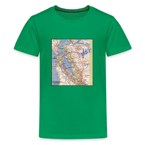 Phillips 66 Zodiac Killer Map June 26 - Kids' Premium T-Shirt