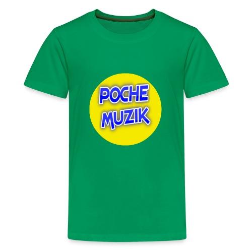 poche MUZIK - T-shirt premium pour ados