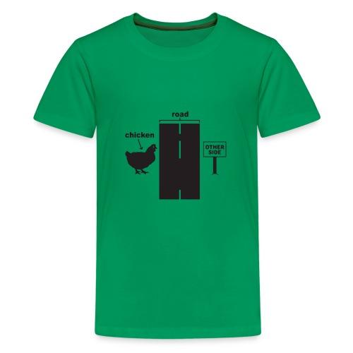 Chicken Crossing - Kids' Premium T-Shirt
