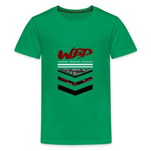 WontBackDown - Kids' Premium T-Shirt