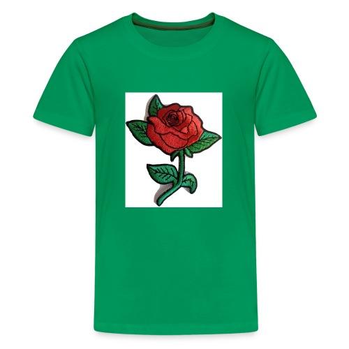 t-shirt roses clothing🌷 - Kids' Premium T-Shirt