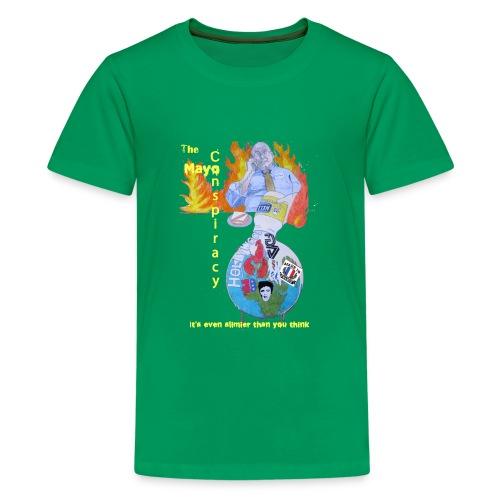 Mayo-Conspiracy - Kids' Premium T-Shirt