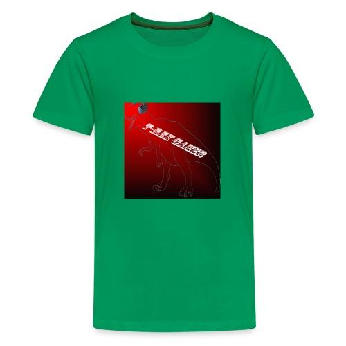 T-REX GAMER LOGO - Kids' Premium T-Shirt