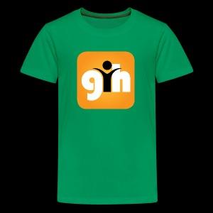 Global Humaist Magazine Icon - Kids' Premium T-Shirt