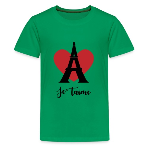 Je'taime Paris - Kids' Premium T-Shirt