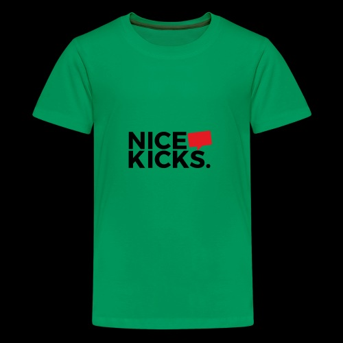 nice kicks by kingmike - Kids' Premium T-Shirt