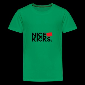 nice kicks by kingmike - Kids' Premium T-Shirt