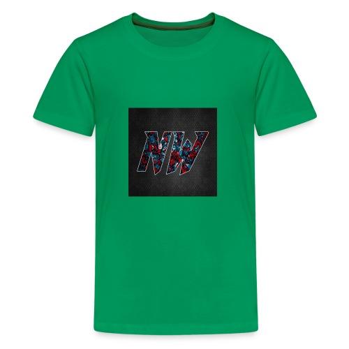 NWmaniac LOGO - Kids' Premium T-Shirt