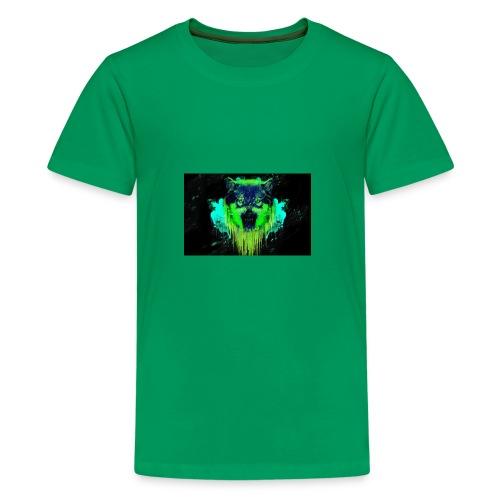 Neon Wolf - Kids' Premium T-Shirt