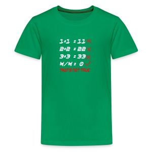 POOR MATH CALCULATION - Kids' Premium T-Shirt