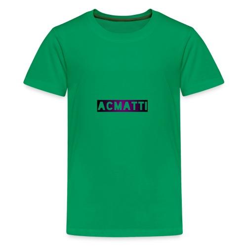 Simple ACMATTI - Kids' Premium T-Shirt