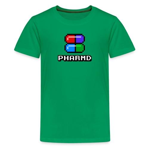 PharmD Stacked Logo - Kids' Premium T-Shirt