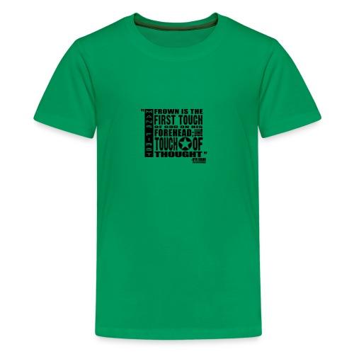 Man First Touch Of God - Kids' Premium T-Shirt
