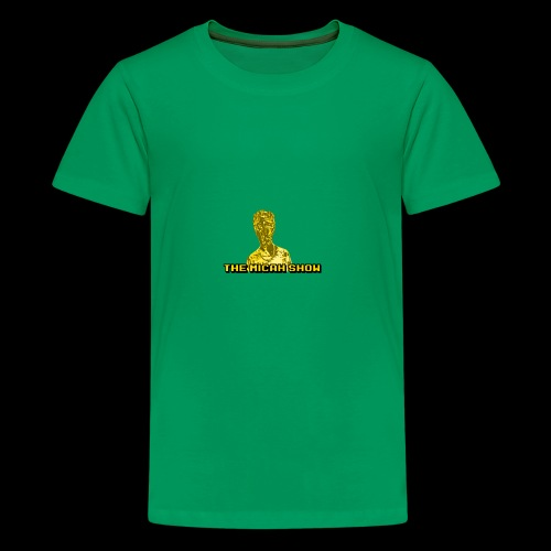 Limited Edition Gold Micah Show Logo - Kids' Premium T-Shirt