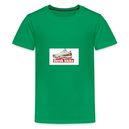White W/ Jordan 11 Closing Ceremony - Kids' Premium T-Shirt