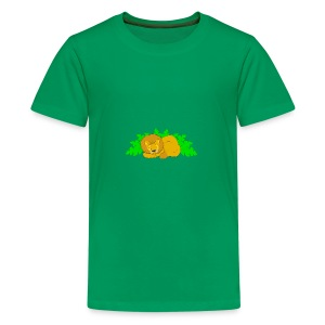 Sleeping Lion - Kids' Premium T-Shirt