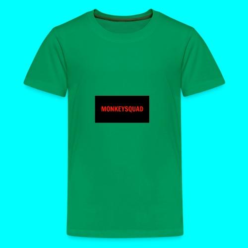 MonkeySquad logo - Kids' Premium T-Shirt
