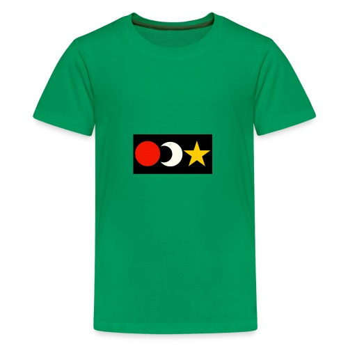 The Sun, Moon And Star. - Kids' Premium T-Shirt