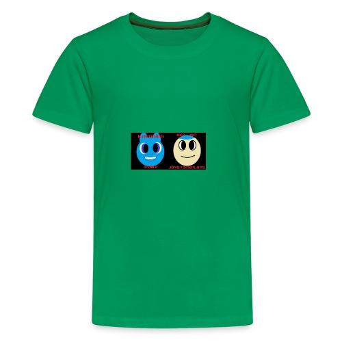 JSP and Nintendo Pony - Kids' Premium T-Shirt