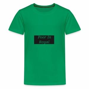Poor In Royal Shirts - Kids' Premium T-Shirt