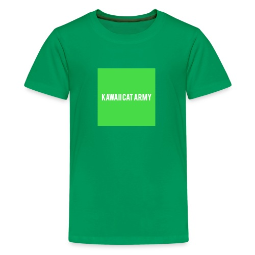 Kawaii Cat Army - Kids' Premium T-Shirt