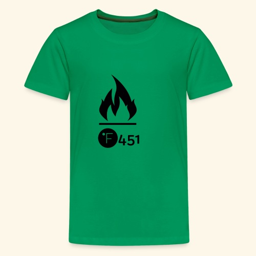 Farenheit 451 - Kids' Premium T-Shirt