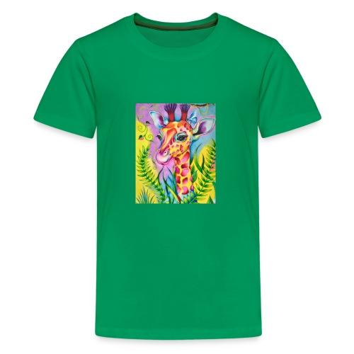 Spring Giraffe Hoodie - Kids' Premium T-Shirt