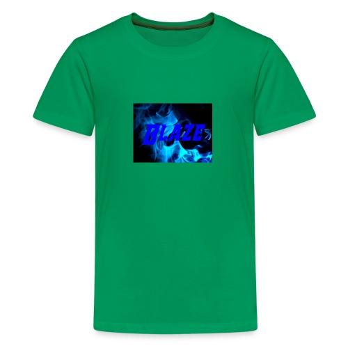Blue Fire - Kids' Premium T-Shirt