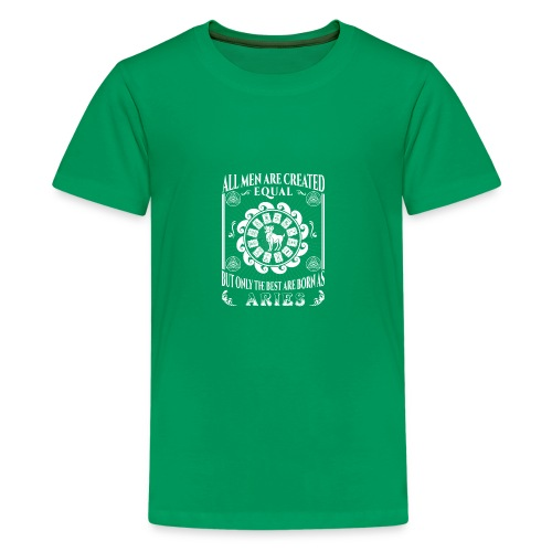 All Men Are Born As Aries - Kids' Premium T-Shirt