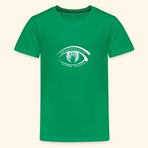 Society of Esoteric Thinkers white logo - Kids' Premium T-Shirt