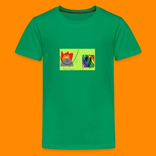 burn - Kids' Premium T-Shirt