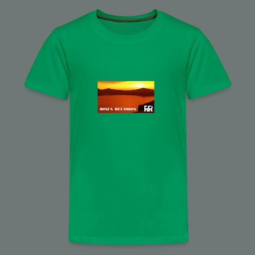 Risen Records Crater Lake Sunset - Kids' Premium T-Shirt