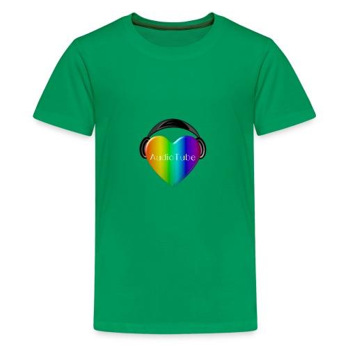 I LOVE AudioTube - Kids' Premium T-Shirt