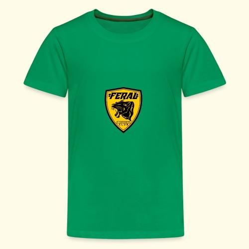 FERAL_EC_Logo - Kids' Premium T-Shirt
