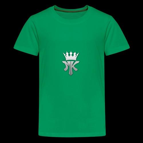 MK orignal logo gray - Kids' Premium T-Shirt