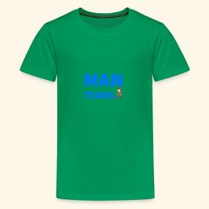 Man Tears Mug - Kids' Premium T-Shirt