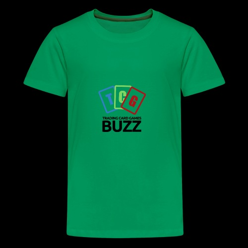 TCG Buzz Logo - Black - Kids' Premium T-Shirt