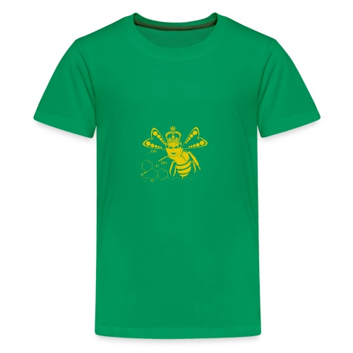 11HydroxyCompoud FemaleBee Shirt Gold Final 01 - Kids' Premium T-Shirt