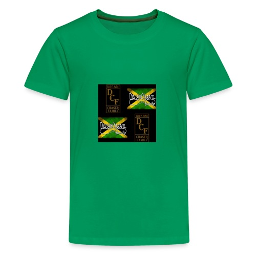 DreamChaser Family both logos - Kids' Premium T-Shirt