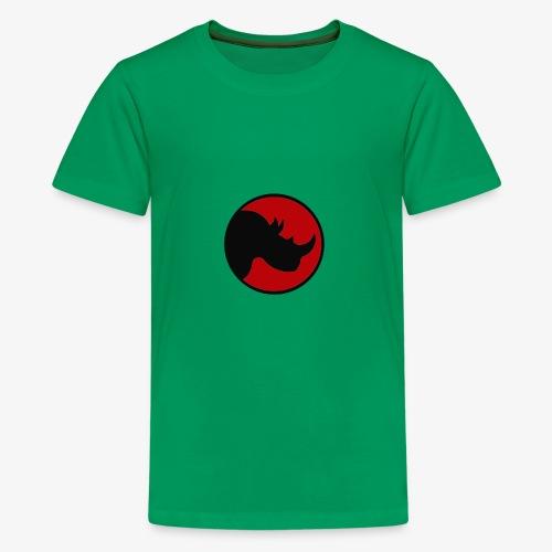 rhino logo - Kids' Premium T-Shirt