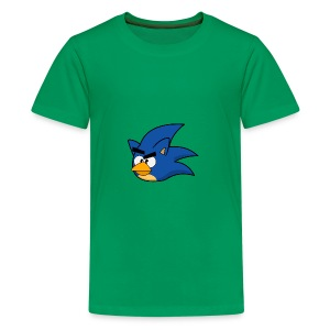 Sonic Angry Bird - Kids' Premium T-Shirt