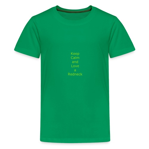Keep_Calm_and_Love_a_Redneck - Kids' Premium T-Shirt