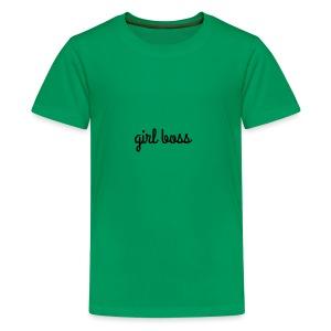 Girl Boss Merch - Kids' Premium T-Shirt