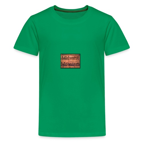 Midwest Monsters Wood Logo - Kids' Premium T-Shirt