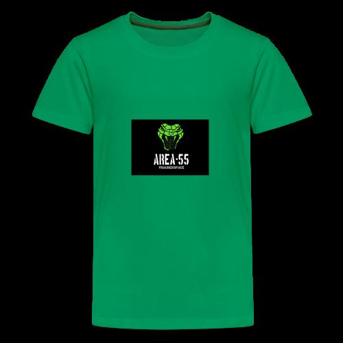 final_Area55_vertical1 - Kids' Premium T-Shirt
