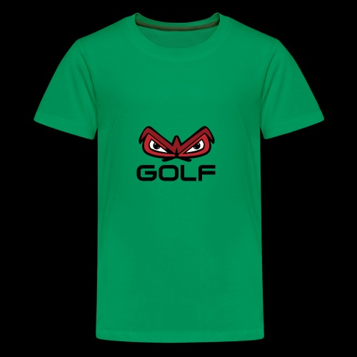 wakefield owl eyes golf - Kids' Premium T-Shirt